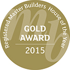 gold award 2015 master builder stamp