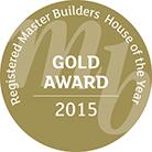 gold award 2015 master builder stamp