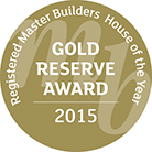 gold award 2015 master builder stamp 2